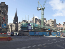 Demolition of Lothian Regional Council HQ