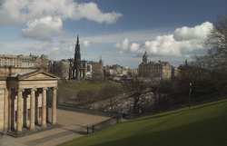 National Gallery and Scott Monument