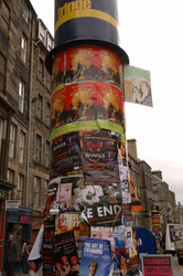Royal Mile during Edinburgh Festival