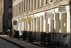 William Street, Edinburgh, shop fronts