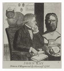 John Kay, drawn and engraved by himself 1786