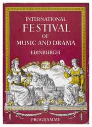 Edinburgh International Festival programme, 1952