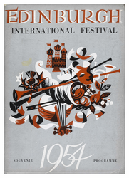 Edinburgh International Festival programme, 1954
