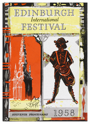Edinburgh International Festival programme, 1958
