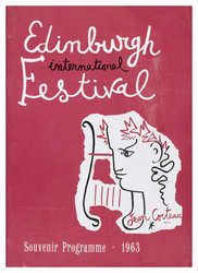 Edinburgh International Festival programme, 1963