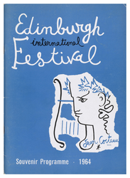 Edinburgh International Festival programme, 1964