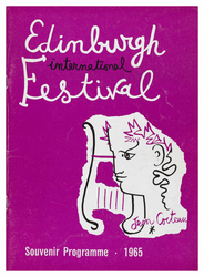 Edinburgh International Festival programme, 1965