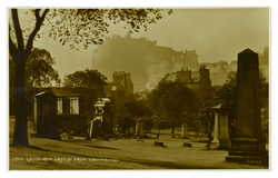 Edinburgh Castle from Greyfriars