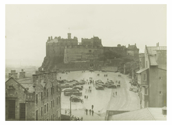 Edinburgh Castle from the east