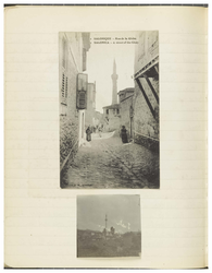 Page 41 from Ethel Moir Diary, Vol 3, 2 photographs