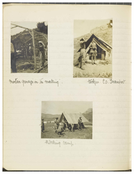 Page 48 from Ethel Moir Diary, Vol 3, 3 photographs