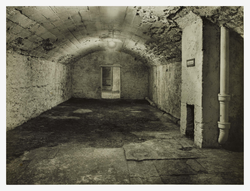 Air raid shelters in cellars at City Chambers