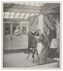 A Corner in the Parisian Photographic Company's Studio