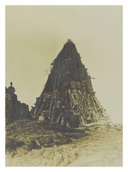 King's Coronation Bonfire, Arthur's Seat