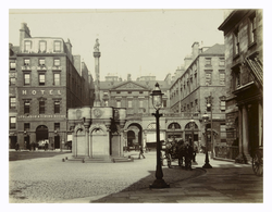High Street, showing shops in entrance to City Chambers