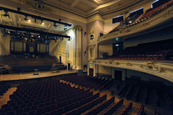 View from the Grand Circle, Usher Hall