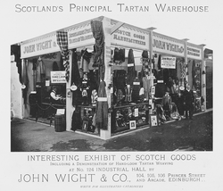 Advertisment for John Wight & Co.