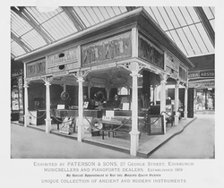 Exhibit by Paterson & Sons, Edinburgh