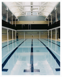 Refurbished Portobello Baths, interior