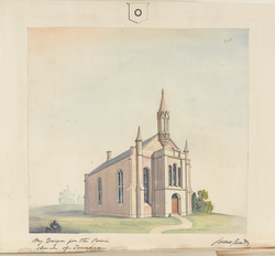 Design for Parish Church of Tannadice