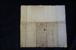 Warrant and licence of 1555 signed Mary Queen of Scots