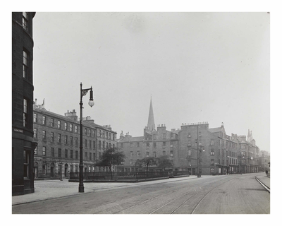 St Patrick Square - general view from south