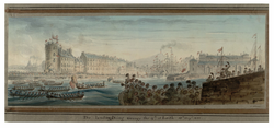 The landing of King George IV at Leith