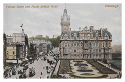 Princes Street and North British Hotel, Edinburgh