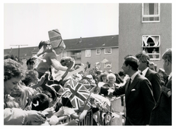 Prince of Wales visits Wester Hailes 31 July 1988
